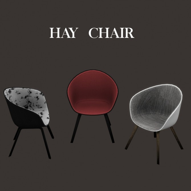 Sims 4 Hay Chair at Leo Sims