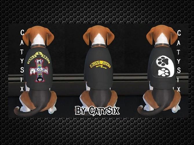 T shirts Dogs/Misc at CatySix image 675 670x502 Sims 4 Updates