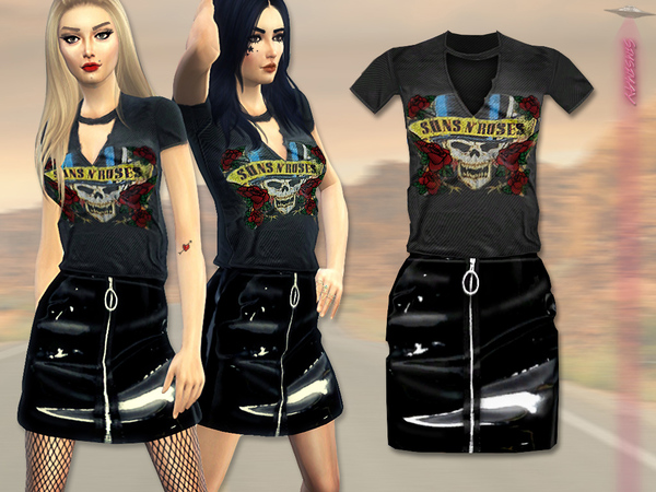 Suns NRoses Outfit by Simsimay at TSR image 686 Sims 4 Updates