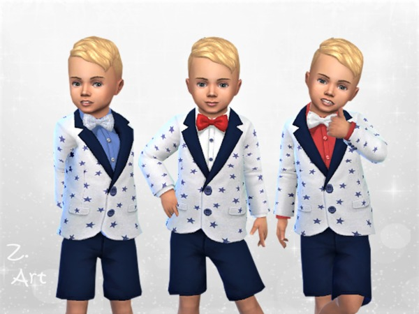 WinterbabeZ 05 small suit by Zuckerschnute20 at TSR image 687 Sims 4 Updates