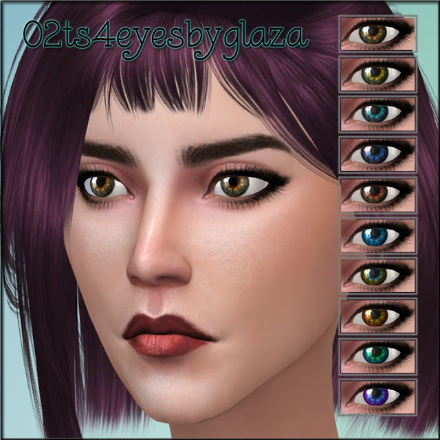 Sims 4 02 eyes at All by Glaza