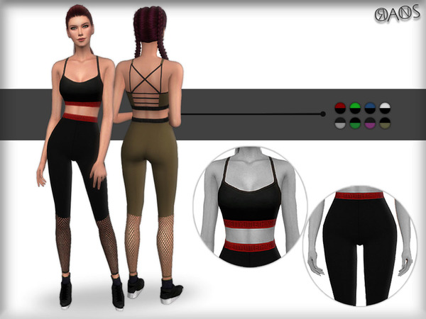 Sims 4 Panel Sport Set by OranosTR at TSR
