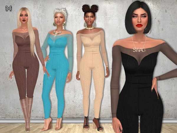 Sims 4 MP Zeta Outfit by MartyP at TSR