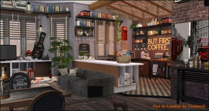 Flat in London Culpepper House 18 at Tanitas8 Sims image 7120 670x356 Sims 4 Updates