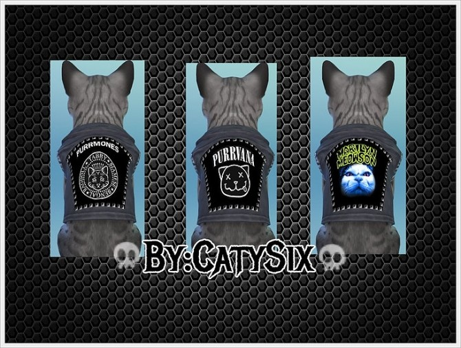 Sims 4 Ready to rock Cats Clothes VOL 2 at CatySix
