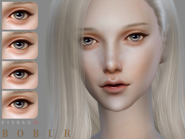 Sims 4 Eyebags 06 by Bobur3 at TSR