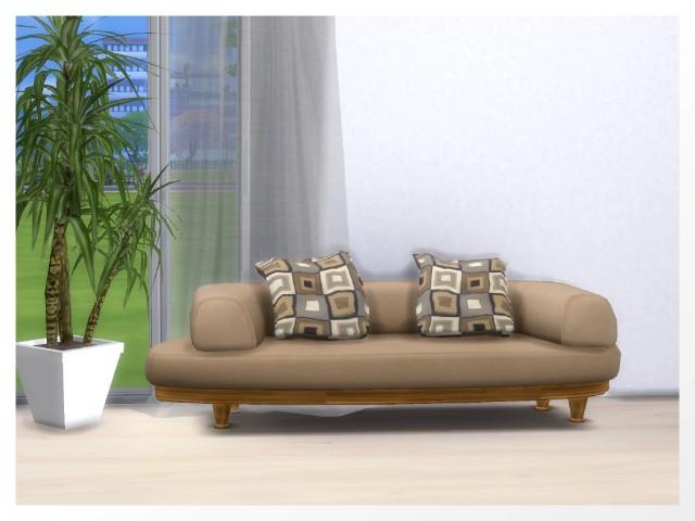 Sims 4 Loft sofa recolors by Oldbox at All 4 Sims