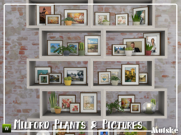 Milford Plants And Pictures By Mutske At Tsr 187 Sims 4 Updates