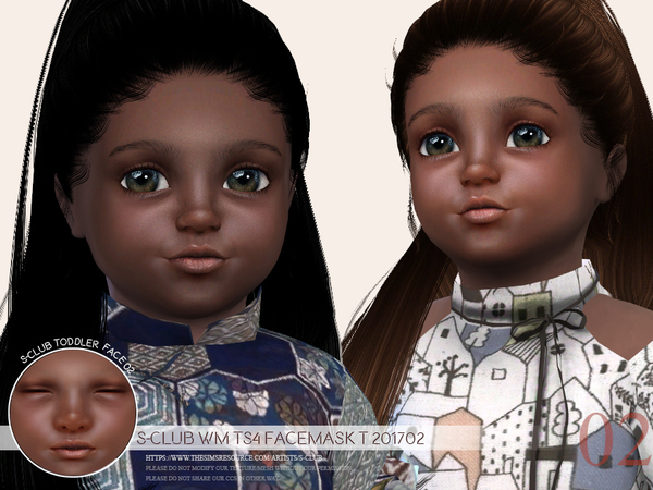 Facemask T 201702 by S Club WM at TSR image 731 Sims 4 Updates