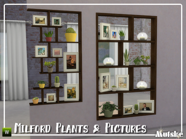 Milford Plants and Pictures by mutske at TSR image 737 Sims 4 Updates