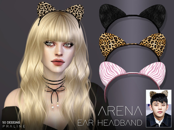 Arena Ear Headband by Pralinesims at TSR image 757 Sims 4 Updates