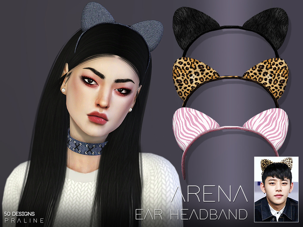 Arena Ear Headband by Pralinesims at TSR image 766 Sims 4 Updates
