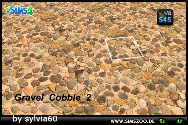 Sims 4 Gravel Cobble 2 by sylvia60 at Blacky's Sims Zoo