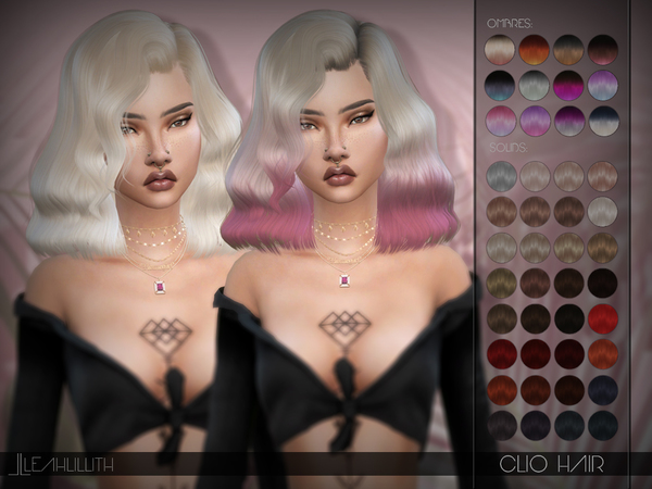 Clio Hair by Leah Lillith at TSR image 771 Sims 4 Updates