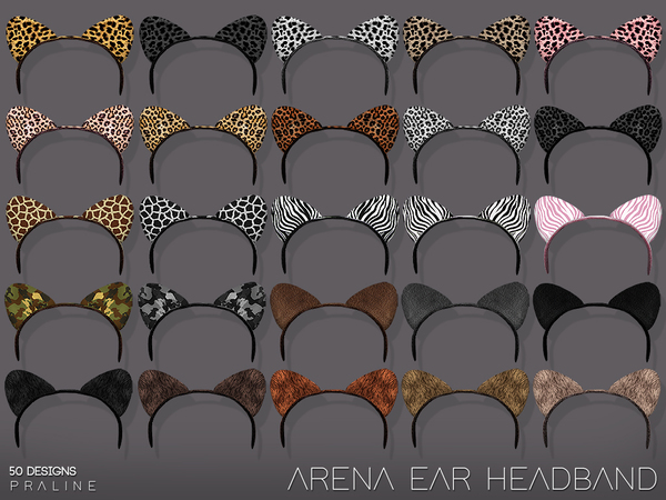 Arena Ear Headband by Pralinesims at TSR image 777 Sims 4 Updates