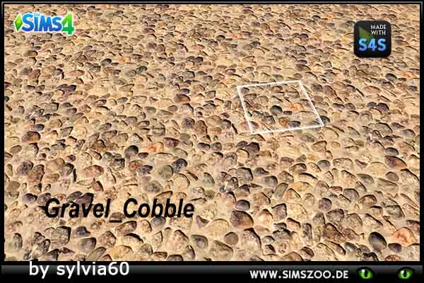 Sims 4 Gravel Cobble by sylvia60 at Blacky's Sims Zoo