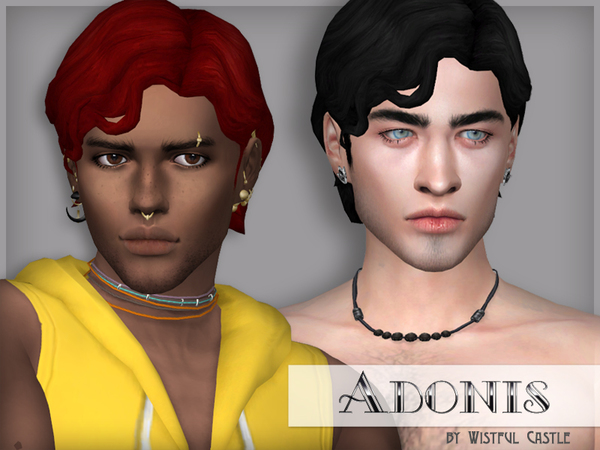 Adonis Male Hair By Wistfulcastle At Tsr Sims 4 Updates