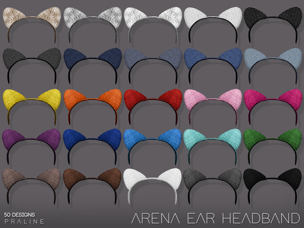 Arena Ear Headband by Pralinesims at TSR image 787 Sims 4 Updates