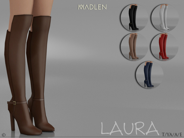 Madlen Laura Boots by MJ95 at TSR image 791 Sims 4 Updates