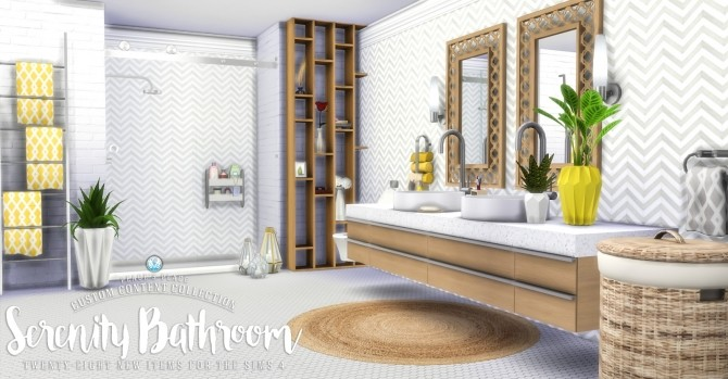 Serenity Bathroom Set at Simsational Designs image 794 670x349 Sims 4 Updates