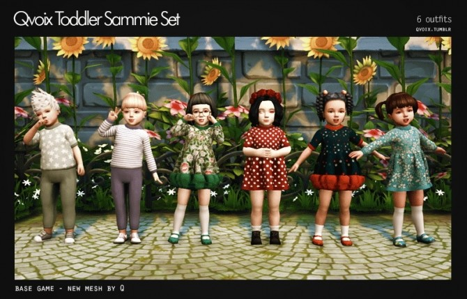 Sammie Set T at qvoix – escaping reality image 80 p1 670x429 Sims 4 Updates