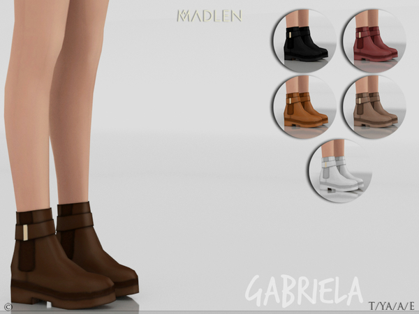 Madlen Gabriela Boots by MJ95 at TSR image 818 Sims 4 Updates