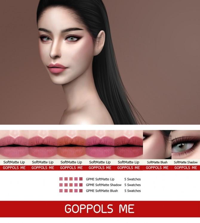 GPME SoftMatte set at GOPPOLS Me image 8216 670x748 Sims 4 Updates