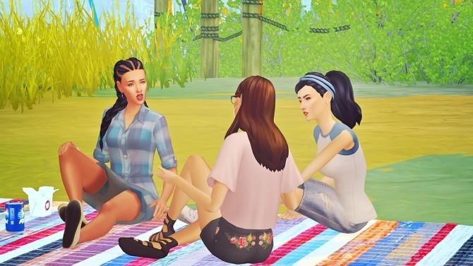 Josie Friends Lounging Single Pose Pack at Josie Simblr image 8318 670x377 Sims 4 Updates