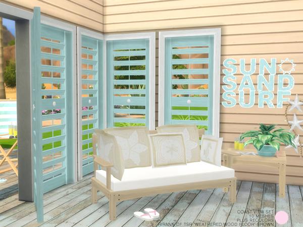 Coast View Set by DOT at TSR image 8411 Sims 4 Updates