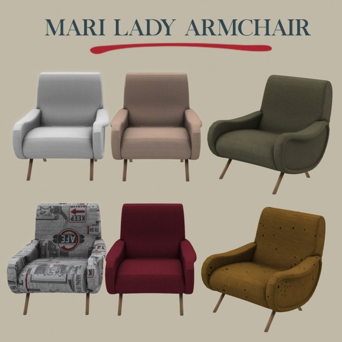 Lady Armchair at Leo Sims image 8417 670x670 Sims 4 Updates