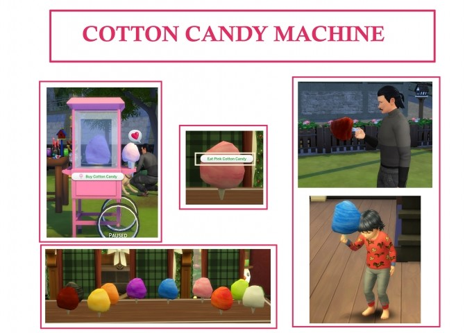 Cotton Candy Machine by icemunmun at Mod The Sims image 8611 670x480 Sims 4 Updates