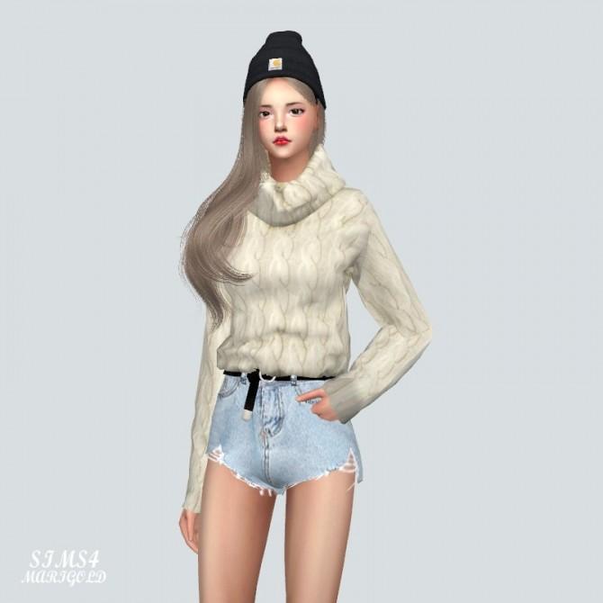 Sims 4 J Turtleneck Top at Marigold