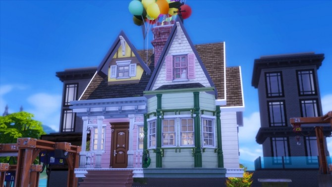 Sims 4 Up House at Akai Sims – kaibellvert