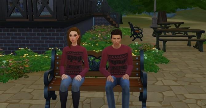 IDKHOW Simlish Christmas Sweater by KaraStars at Mod The Sims image 887 670x353 Sims 4 Updates