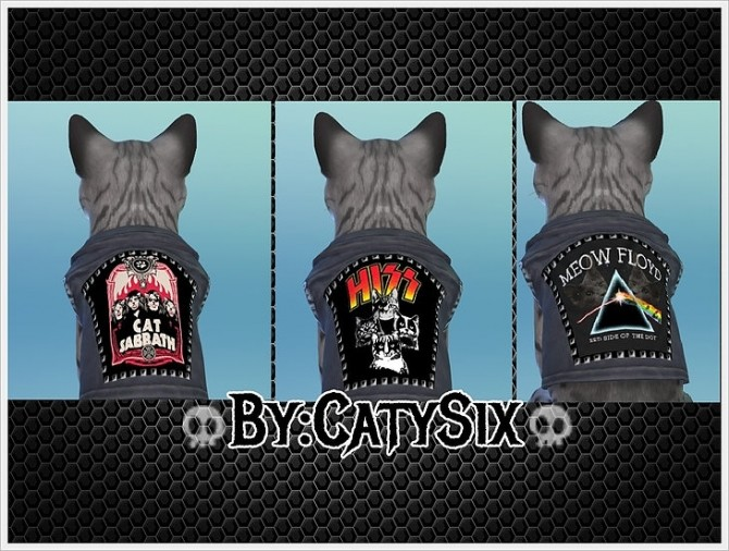 Ready to rock Cats Clothes VOL1 at CatySix image 913 670x506 Sims 4 Updates