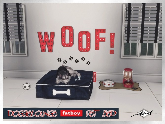 Doggielounge Stonewash Fatboy Pet Bed at Daer0n – Sims 4 Designs image 914 670x503 Sims 4 Updates