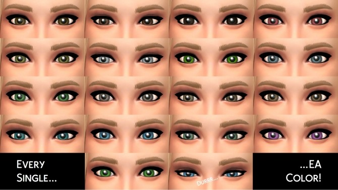 MaxisMatch Eyes and Teeth by littledica at Mod The Sims image 941 670x377 Sims 4 Updates