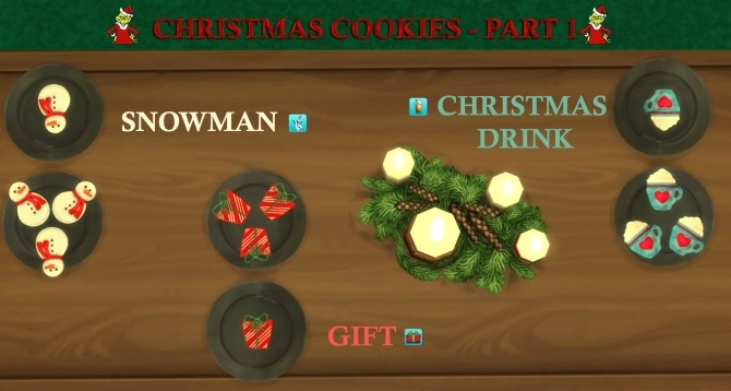 Custom Christmas Cookies Part 1 by icemunmun at Mod The Sims image 9414 670x358 Sims 4 Updates