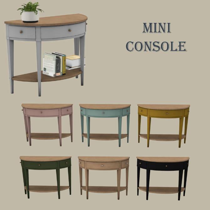 Mini Console at Leo Sims image 96 670x670 Sims 4 Updates