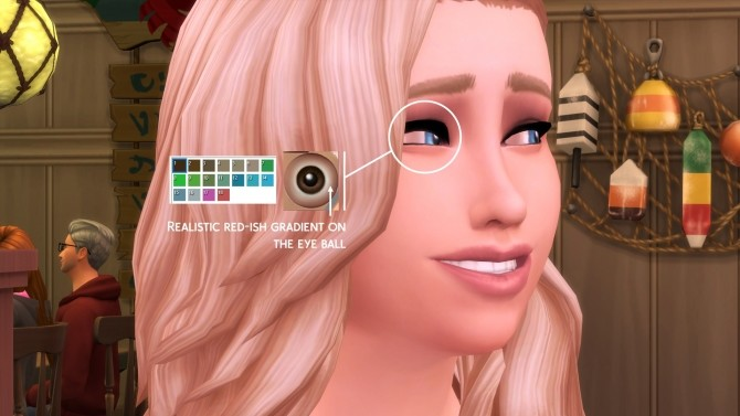 MaxisMatch Eyes and Teeth by littledica at Mod The Sims image 961 670x377 Sims 4 Updates