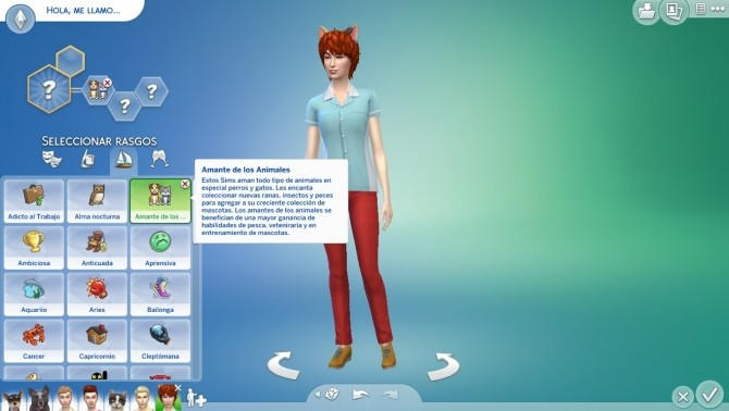 Sims 4 Animal Lover Custom Trait. by edespino at Mod The Sims