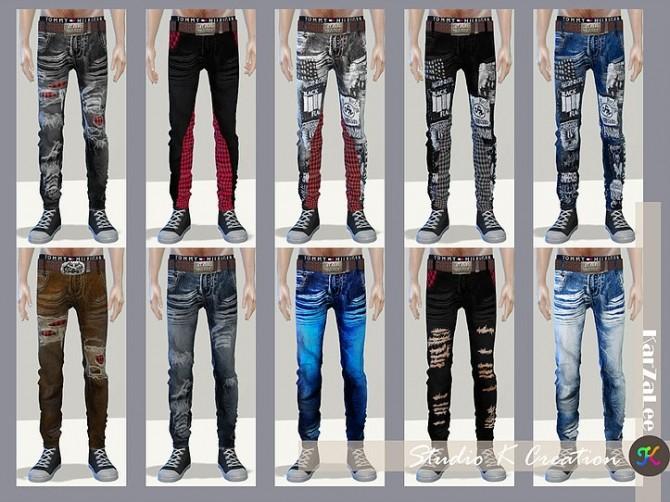 Sims 4 Giruto 42 Slim fit Jeans at Studio K Creation