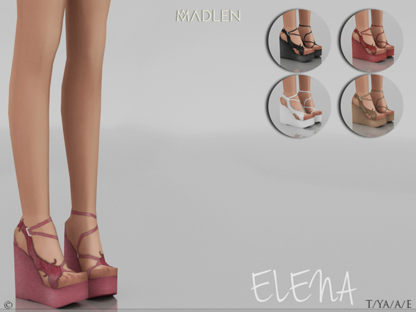 Sims 4 Madlen Elena Shoes by MJ95 at TSR