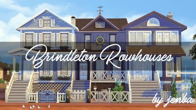 Brindleton Rowhouses at Jenba Sims image 993 670x377 Sims 4 Updates
