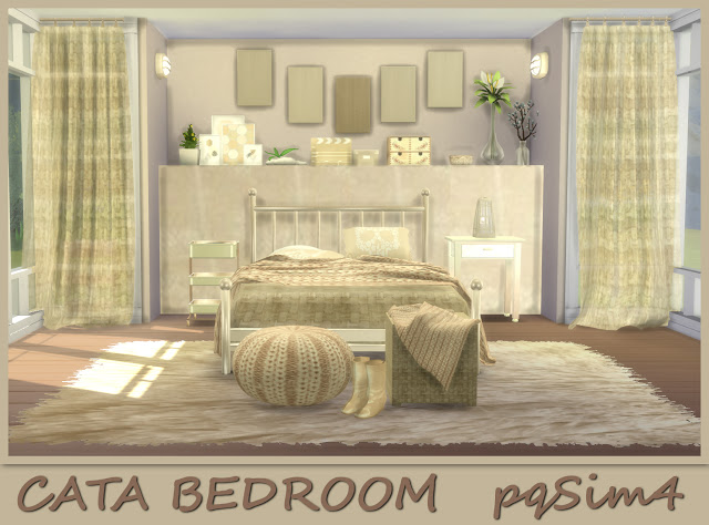 Cata Bedroom at pqSims4 image 10010 Sims 4 Updates