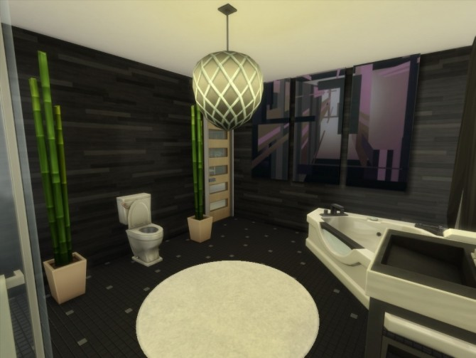 Sims 4 The Nuclear Home No CC by EzzieValentine at Mod The Sims