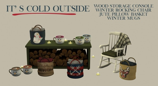 It's Cold Outside set (P) at Leo Sims image 1003 670x367 Sims 4 Updates