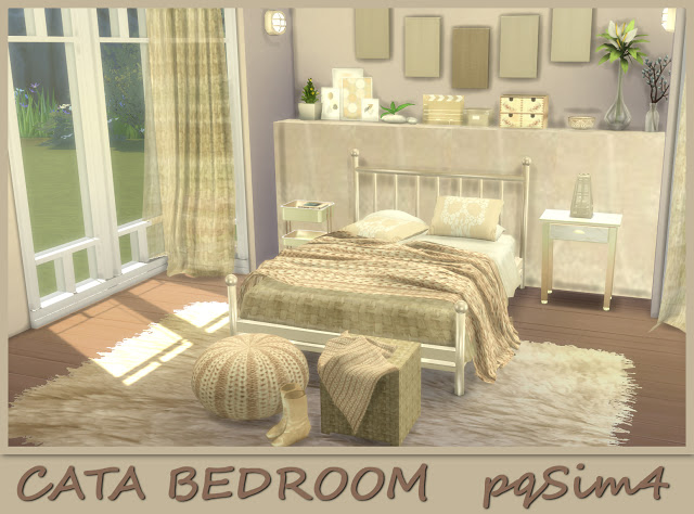 Cata Bedroom at pqSims4 image 10116 Sims 4 Updates
