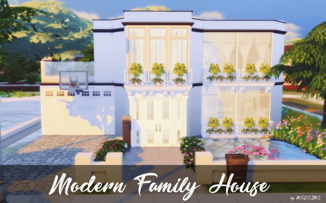 Modern Family House at MSQ Sims image 1012 670x419 Sims 4 Updates