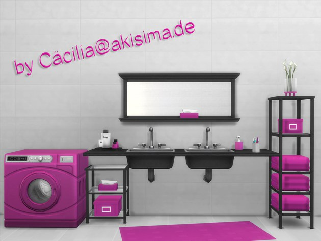 Washer machine recolors by Cäcilia at Akisima image 10125 Sims 4 Updates